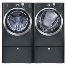Electrolux IQ-Touch Steam Washer EIFLS60LT 5.0 Cu. Ft. and Gas Steam Dryer EIMGD60LT 8.0 Cu. Ft., Titanium