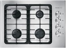 Electrolux ICON Designer E30GC70FSS 30in Drop-In Gas Cooktop 17000 btu with 4 Sealed Burners