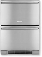 Electrolux IQ-Touch Series EI24RD65KS 24in Built-in Energy Star Refrigerator Drawers Refrigerator 4.74 cu. ft.