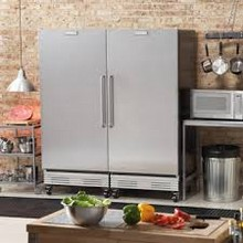 Frigidaire FCRS181RQB-FCFS181LQB 64in Commercial All-Refrigerator All Freezer Side-by-Side Duo 37.2 cu. ft.