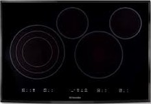 Electrolux IQ-Touch EI30EC45KB 30in electric Cooktop 4 cooking Zones and IQ-Touch Controls