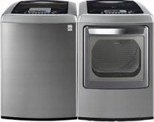 LG WT1201CV HE Energy Star 5.2 Cu. Ft. Washer and DLEY1201V 7.3 cu.ft. Steam Dryer