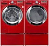 LG WM3070HRA Energy Star Steam Washer 4.3 Cu. Ft. and DLEX3070R Electric Steam Dryer 7.3 Cu. Ft