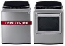 LG WT1701CV HE Energy Star Turbo Wash Washer 5.8 Cu. Ft., DLGY1702V 7.3 cu.ft. Gas Steam Dryer