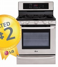 LG LRG3093ST 30in Self Clean Gas Convection Range 5.4 cu.ft. SuperboilT 17,000 BTU