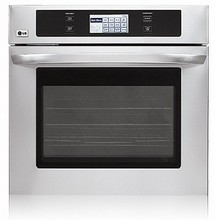 LG LWS3081ST 30in Self-Clean true Convection Wall Oven 4.7 cu. ft. Stainless Steel