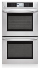 LG LWD3081ST 30in Self-Clean true Convection Double Wall Oven 2 x 4.7 cu. ft. Stainless Steel