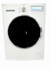 Porter & Charles COMBI9-6 24in All In One Ventless Washer Dryer Combo 220v, 9 kg capacity