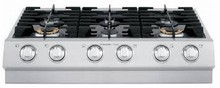 Electrolux ICON E36GC75PSS 36in Pro-Style Slide-in Gas Cooktop 2x 20000 btu burners