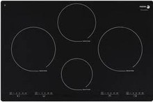 Fagor IFA80BF 30in Induction Cooktop 4 Cooking Zones, 12 Cooking Settings