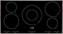 Fagor IFA90AL 36in Induction Cooktop 5 Cooking Zones, 12 Cooking Settings, 3 Quick Launch Commands