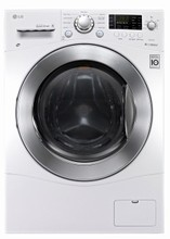 LG WM3477HW 24in All In One Ventless Washer/ Dryer Combo 2.7 cu. ft. Internal Water Heater, 1400rpm