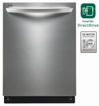 LG LDF8574ST Fully Integrated STEAM Dishwasher 42dB, 14-Place Settings