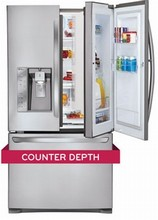 LG LFXC24766S 36in ENERGY STAR Counter-Depth DOOR-IN-DOOR Refrigerator 23.8 Cu.Ft.