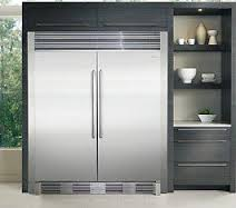 Electrolux IQ Touch Series EI32AR80QS & EI32AF80QS Built-In 64in Side-by-Side