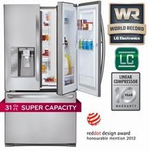 LG LFXS30766S 36in ENERGY STAR French DOOR-IN-DOOR Refrigerator 29.6 Cu.Ft.