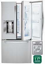 LG LFXS24663S 33in Energy Star Door-in-Door French Door Refrigerator 24 cu. ft.