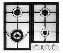 Fagor FA640STX 24in Gas Cooktop with 4 Sealed Burners, 16,000 BTU