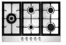 Fagor FA850STX 30in Gas Cooktop with 5 Sealed Burners, 16,000 BTU