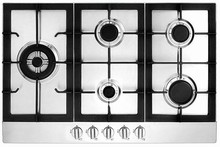Fagor FA950STX 34in Gas Cooktop with 5 Sealed Burners, 16,000 BTU