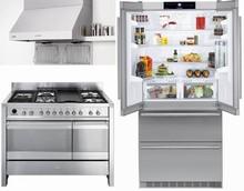 Liebherr CS2062 36in 2 compressors Refrigerator, Smeg A3XU6 48in Duel Fuel Range