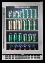 Silhouette DBC056D1BSSPR 24in Undercounter Beverage Center 5.7 cu. ft.