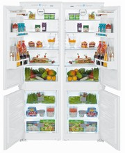 Liebherr HC1000B-HC1001B 48in Energy Star Fully Integrated Side-By-Side Refrigerator Freezer 19 cu. ft.