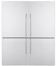 Blomberg 60in Energy Star Side-By-Side Refrigerator Freezer 36 cu. ft. with Twist Ice Maker