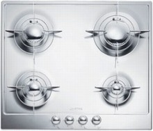 Smeg Piano Design PU64 24in Gas Cooktop with 4 Sealed Burners