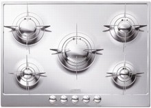Smeg Piano Design PU75 28in Gas Cooktop with 5 Sealed Burners