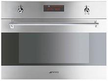 Smeg Classic Design SU45MCX 24in Speed Oven 1.2 cu. ft. Capacity