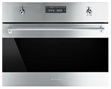 Smeg SU45VCX1 24in Classic Built-In Combination Steam Oven 2.8 cu. ft. 10 Cooking Modes