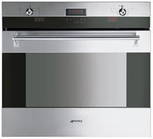 Smeg SOU330X Classic Aesthetic Series 30in Single Electric Wall Oven 4.34 cu. ft. Capacity