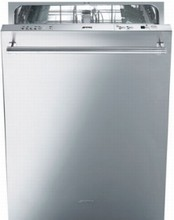 Smeg ST8646XU 24in Fully Integrated Dishwasher 13 Place Setting Capacity