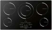 Fulgor Milano 600 Series F6IT36S1 36in Induction Cooktop 5 Cooking Zones