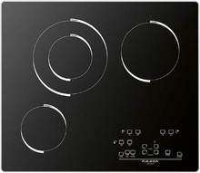 Fulgor Milano F6RT24S1 24in 600 Series Electric Cooktop with 3 FulLight Radiant zones