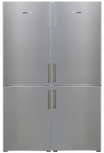 Electrolux 48in Energy Star Side-By-Side Refrigerator Freezer 22.6 cu. ft. Glass Shelves, Stainless Steel
