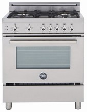 Bertazzoni Professional series PRO365GASXV 36in Pro-Style Gas Range 5 Sealed Burners 750 - 18,000 BTUs