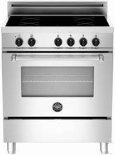 Bertazzoni Master Series MAS304INSXT 30in Slef Clean Induction Range 4 induction zones