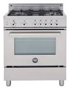 Bertazzoni Professional series PRO304GASXV 30in Value Version Pro-Style Gas Range 4 Sealed Burners