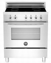 Bertazzoni Professional Series PRO304INSX 30in Self Clean Induction Range 4 induction zones