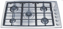 Scholtes TG365IXGHNA 36in Gas Cooktop with 5 Sealed Burners, Centre 18,000 BTU