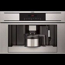 AEG PE4571-M 24in built-in anti-fingerprint stainless steel fully automatic coffee maker, LCD display