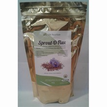 Organic Sprouted Flax - Original 454g | NutraSprout