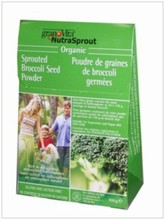 Sprouted Broccoli powder organic - 100g   NutraSprout