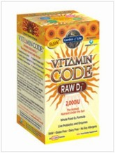 VITAMIN CODE Raw Vitamin D3  Garden of Life