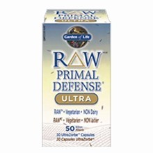 RAW PRIMAL DEFENSE ULTRA 30 capsules - Garden of Life