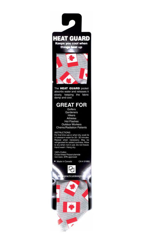 Cooling Tie - 021 Oh Canada