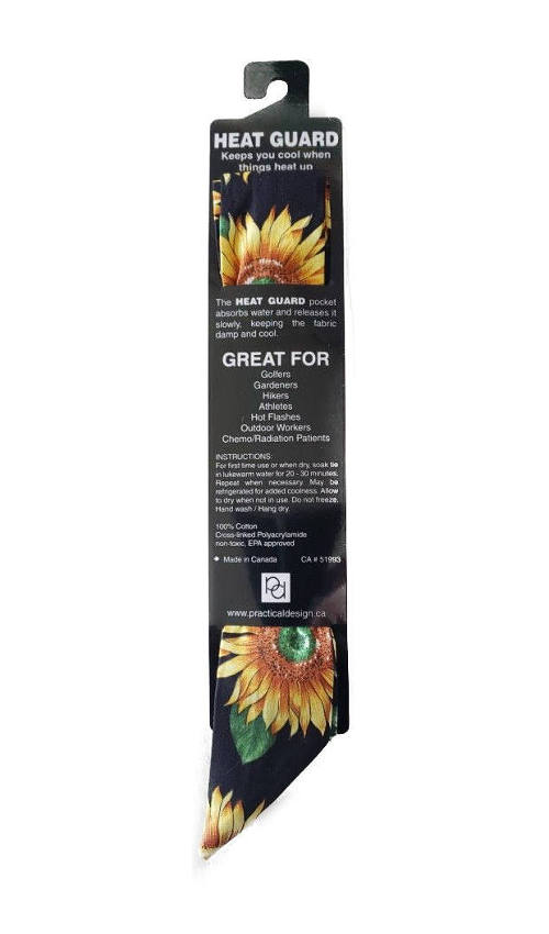 Cooling Tie - 346 Sunflowers