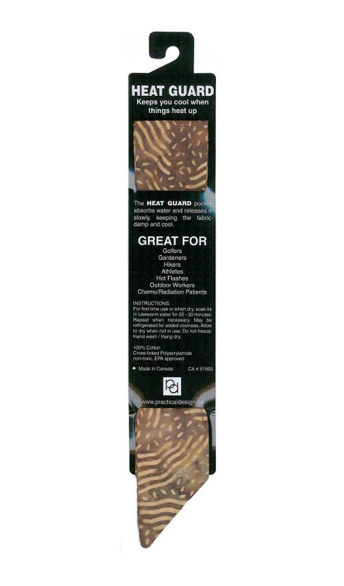 Cooling Tie - 355 Brown Batik